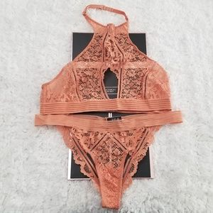 Victoria's Secret Intimates & Sleepwear - Victoria's Secret Keyhole Bralette & Cheekini Set